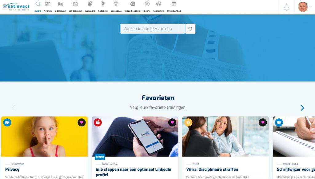 Startpagina Eigen Academie